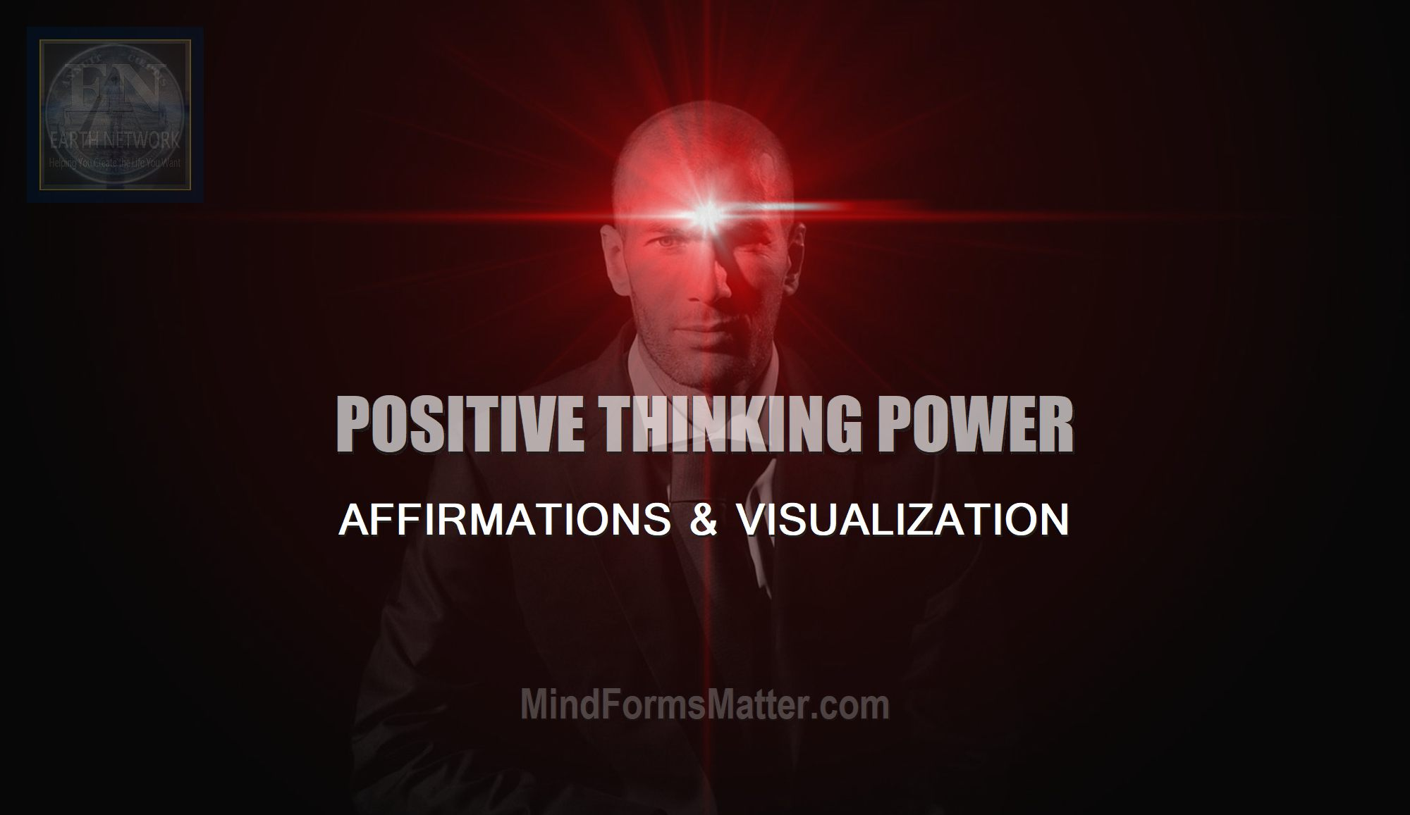 man-depicts-how-do-i-implement-positive-thinking-how-to-use-affirmations-visualization-to-influence-create-events-power