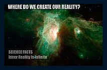 Image shows where we create our reality