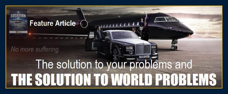 People getting on jet depicts The solution to public humanitys world global problems your private problems