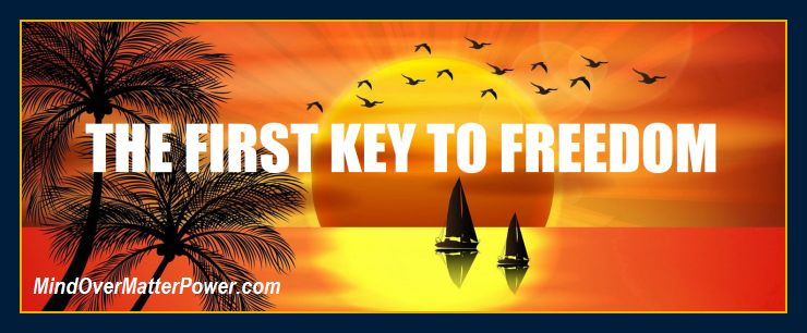 Your key to freedom from all problems in life. Pillar article.