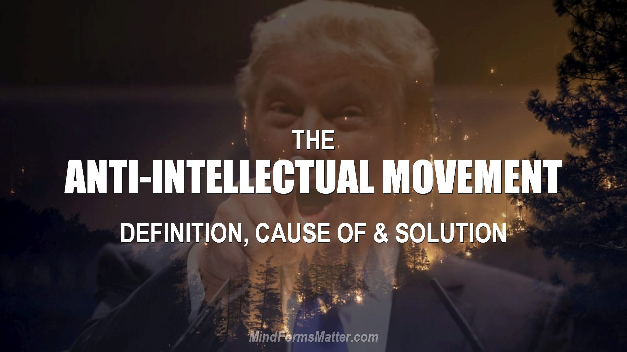 Look at Trump to see what the anti-intellectual movement definition. Learn the cause and the solution here.